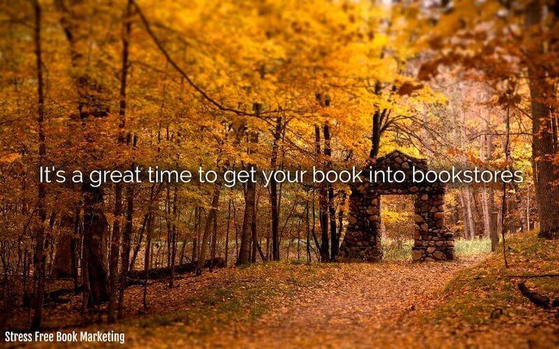 author get into bookstores