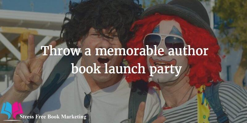 Memorable launch party