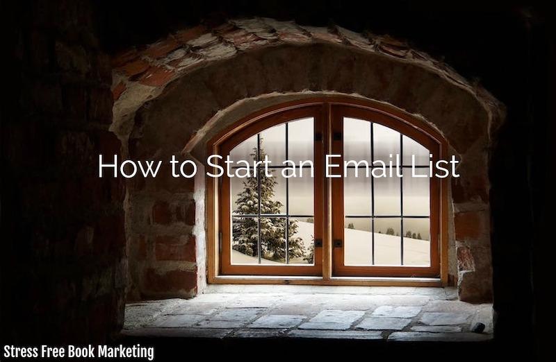 start-an-email-list